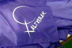 Pañuelo de tela personalizado